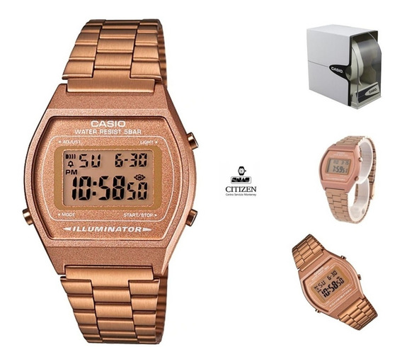 Reloj Casio B640 Rosa Dama Vintage 100% Original Envio Grati