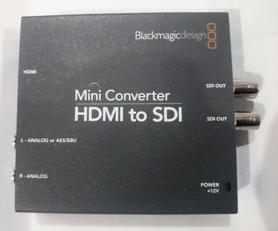 Mini Conversor Blackmagic Hdmi Para Sdi