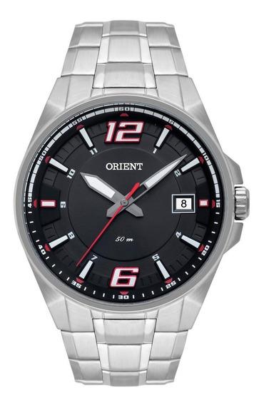 Relógio Orient Masculino Aço Calendário Original