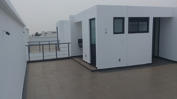 Estrena P House Con 90m Construidos Y 90 M De R Gar Privado