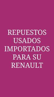 Motor Arranque Megane Ii Usado Original Importado Renault