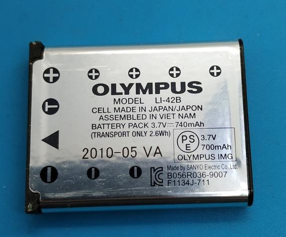 Bateria Li-42b P/ Camera Digital Olympus Fe160 Fe190 Fe220