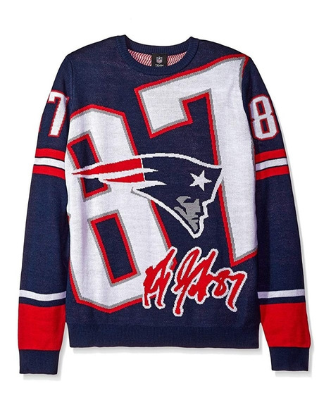 Nfl Sweater Patriots + Casco