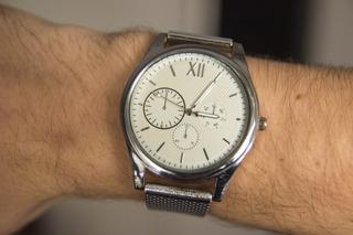 Reloj Mr Stark Hombre Plateado Negro Plastico Metalizado