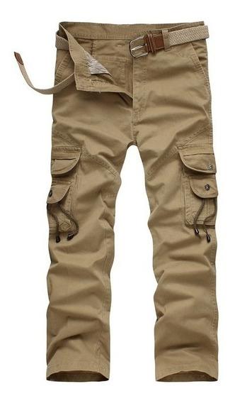 Hombres Militar Pantalones Casual Al Aire Libre Excursionism