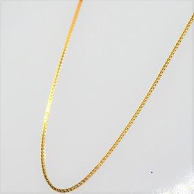 Corrente Elo Veneziano 45cm Ouro 18k 1,40g