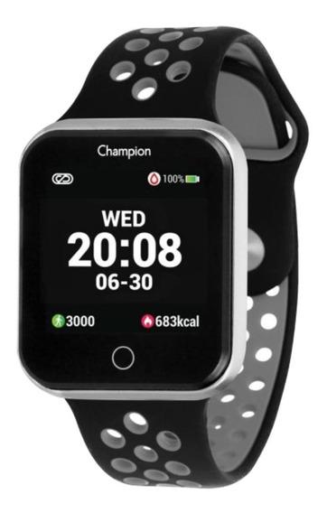 Relógio Champion Smartwatch Ch50006c Bluetooth Prata C/ Nfe
