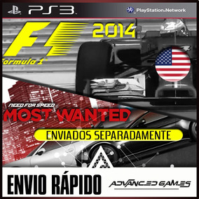 Need For Speed Most Wanted + F1 2014 - Ingles Jogos Ps3 Psn