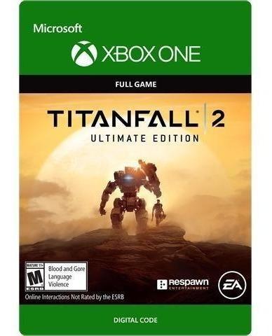 Titanfall 2 Edição Ultimate Xbox One Codigo 25 Digitos