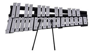 Ammoon 30 Note Glockenspiel Xilófono Marco De Madera Inst...