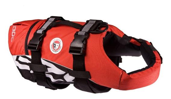 Arnés Chaleco Flotación Tamañ Grande Color Rojo Perro Ezydog