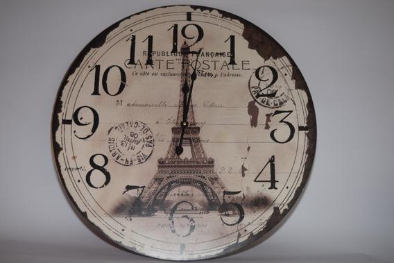 Reloj Vintage Torre Eiffe.