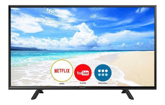 Smart Tv Led 40 Polegadas Panasonic Tc-40fs600b Full Hd 2 Hd