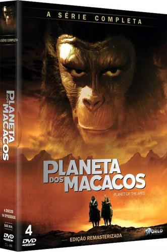 Dvd Planeta Dos Macacos Série Completa - Original Lacrado