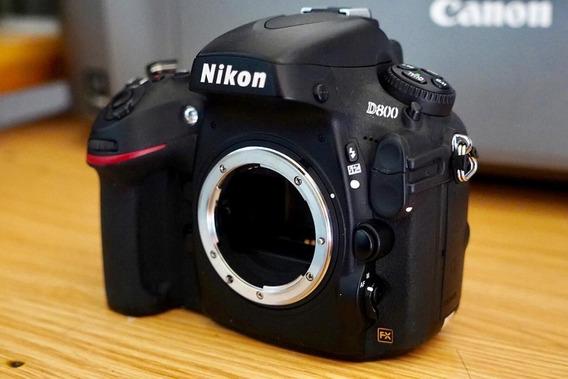 Nikon D800 Em Perfeita Condições - 36 Megapixel.