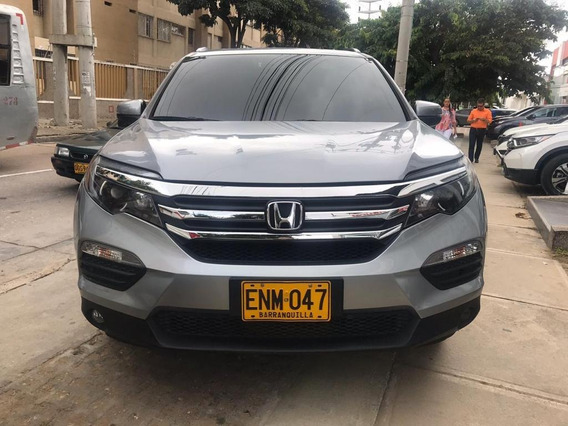 Honda Pilot Prestige 2018 Plata