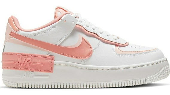 Nike Air Force 1 Shadow White Coral Pink .