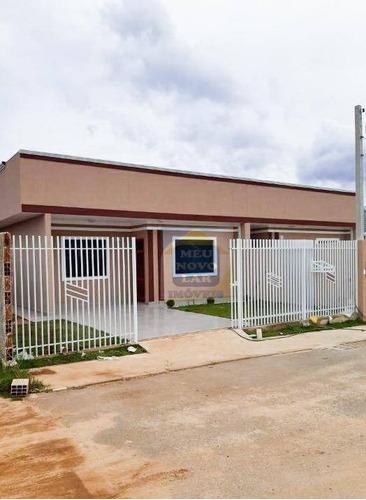 Imagem 1 de 20 de Casa Com 3 Dormitórios À Venda, 64 M² Por R$ 290.000,00 - Eucaliptos - Fazenda Rio Grande/pr - Ca0466
