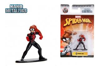 Spider Girl Mv53 Marvel Nano Jada Metal Die Cast Playking