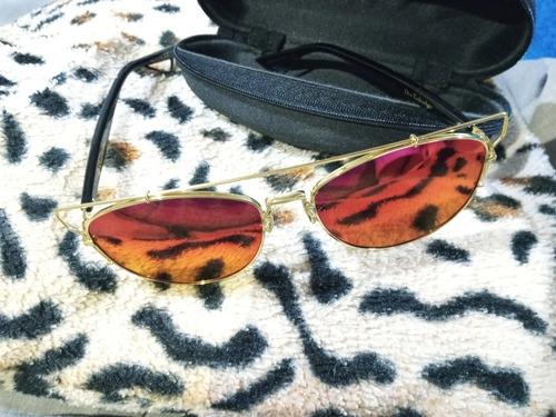 Imagem 1 de 3 de Óculos De Sol Espelhado Dior