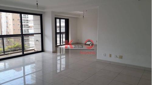 Apartamento Com 3dormitórios À Venda, 244 M² Por R$ 1.100.000 - Gonzaga - Santos/sp - Ap10092