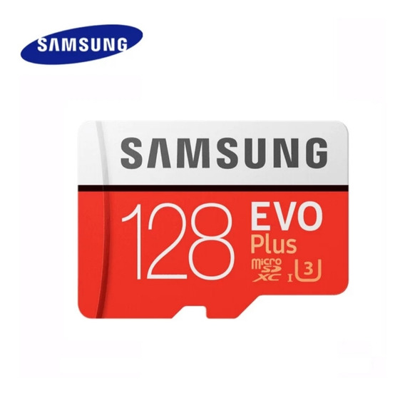 Cartão De Memória Samsung Micro Sd Evo Plus 128 Gb V3 4k