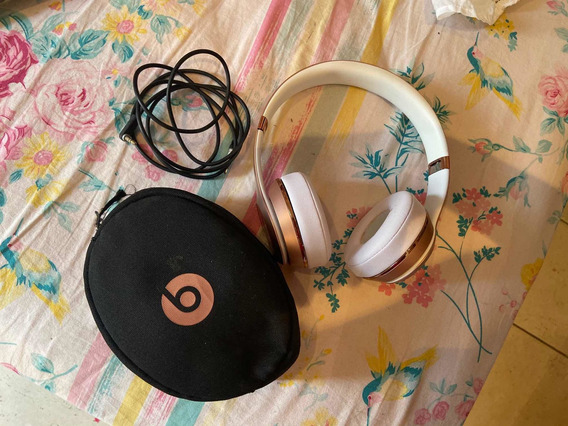 Headphone Beats Solo3 Rose Gold