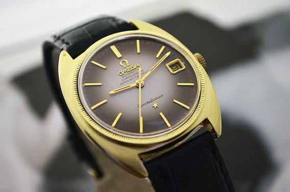 Omega Constellation C Shape - Bi Color - Ref: 168.005- 35mm