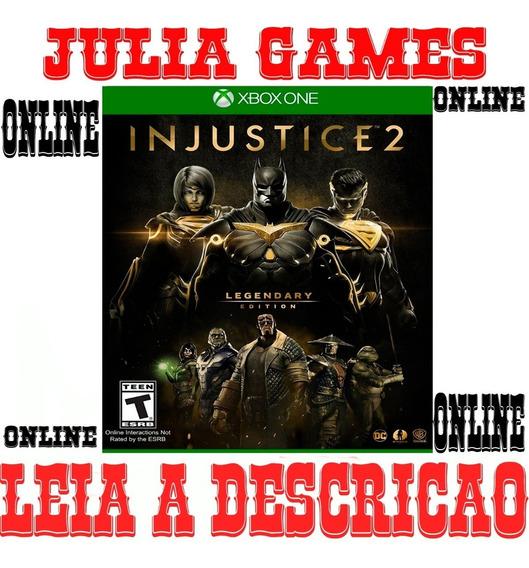 Injustice 2 Edição Suprema Xbox One Digital Online + Brinde