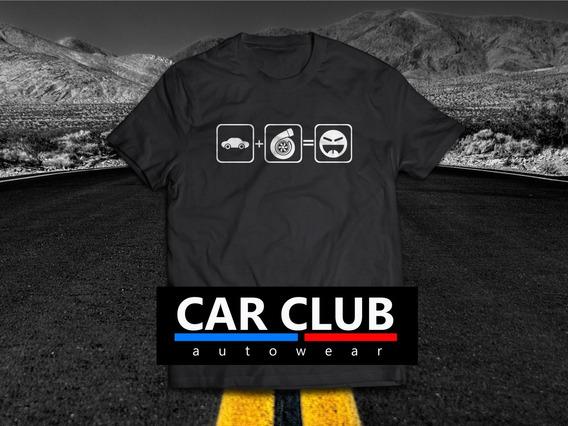 Camisa Car Club Autowear Carros Turbo Boost Turbinados Psi