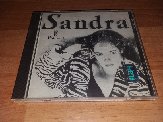 Cd - Sandra Mihanovich - En El Paraísó