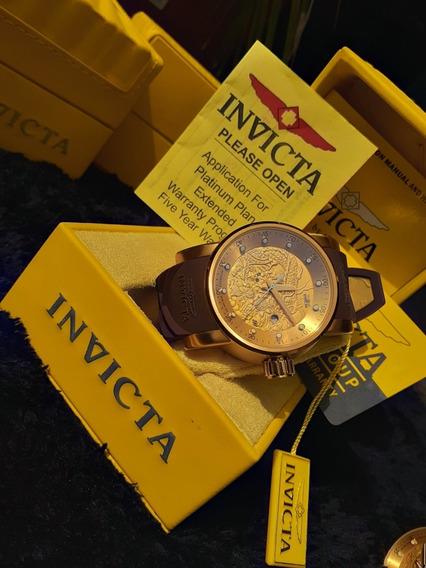 Relógio Invicta Yakuza Automático +caixa Original