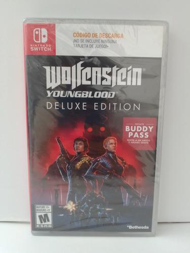 Wolfenstein Youngblood Nuevo _ Switch _  Shoryuken Games