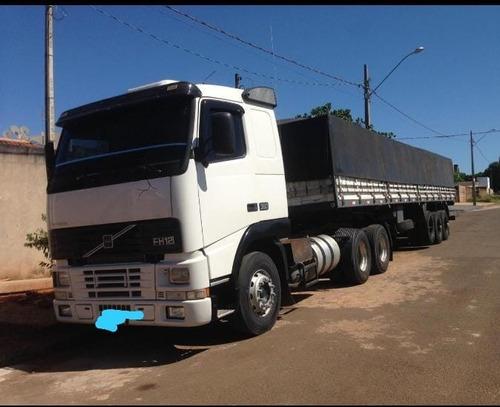 Imagem 1 de 3 de Conjunto Volvo Fh 12 380 6x2 Com Carreta Graneleira Krone
