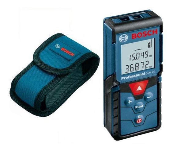 Trena A Laser De Distancia 40 Metros Bosch Glm40
