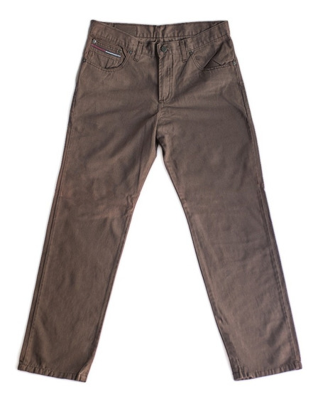 Pantalón Hombre Canvas, Corte Clásico Recto - Talle 38 Al 54