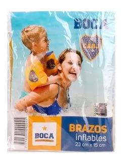 Bracitos Inflables Boca B6 23x15cm Envio Full
