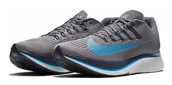 Tenis Nike Zoom Fly Cinza Corrida Academia Forma Justa