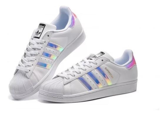 Zapatillas adidas Superstar Originales Tornasoladas Hologram