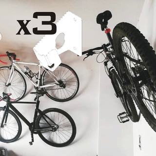 Soporte Bicicleta Mountain Bike: Invisible + Calidad Promo