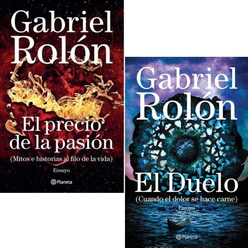Pack El Precio De La Pasión + El Duelo - Gabriel Rolón