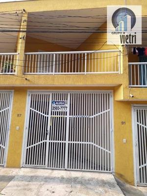 Sobrado Com 2 Dormitórios Para Alugar, 75 M² Por R$ 1.200/mês - Taipas - São Paulo/sp - So2254