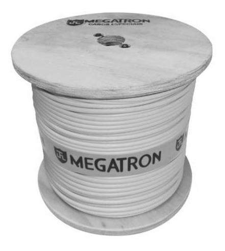 Cabo Coaxial 06 47% 300m Branco - Megatron