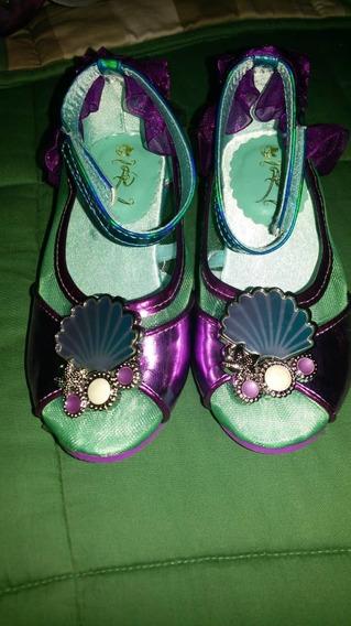 Zapatos Princesa Ariel Talla 7/8