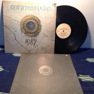 Whitesnake 1987 Lp Vinilo Insert