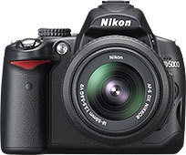 Máquina Fotográfica Nikon D 5000