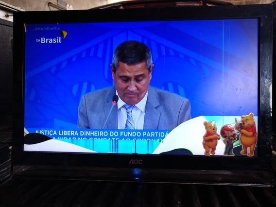Tv Aoc Modelo 22h138 Com Defeito Na Tela