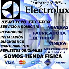Electrolux Servicio Técnico Hielera Vinera Nevera Reparación