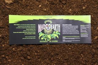 Sustrato Profesional Mad Earth Classic 25l