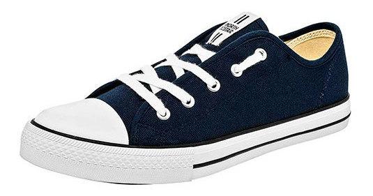 North Star Sneaker Urbano Azul Textil Caballero Bth50328